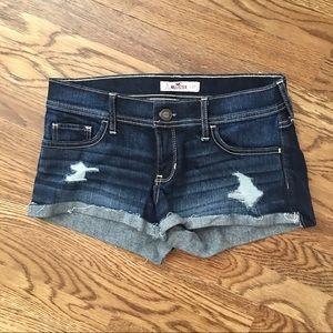 Hollister Shorts - Hollister like new denim shorts size 5
